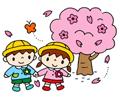 園児作品展 4月 お花見